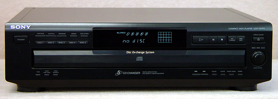 SONY CDP-CE215 Disc Players
