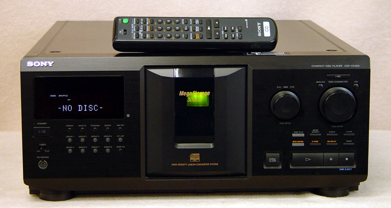 SONY CDP-CX300 Disc Players