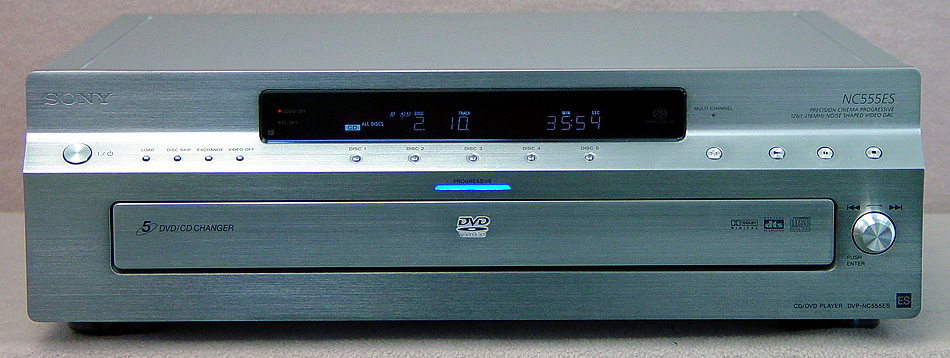 SONY DVP-NC555ES Disc Players
