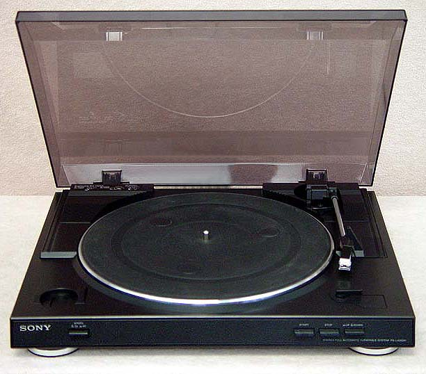 SONY PS-LX250 Turntables