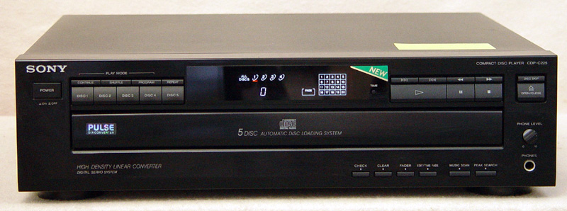 Sony CDP-C225 disc players
