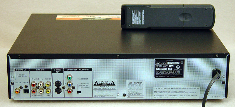 Sony DVP-NC655P disc players