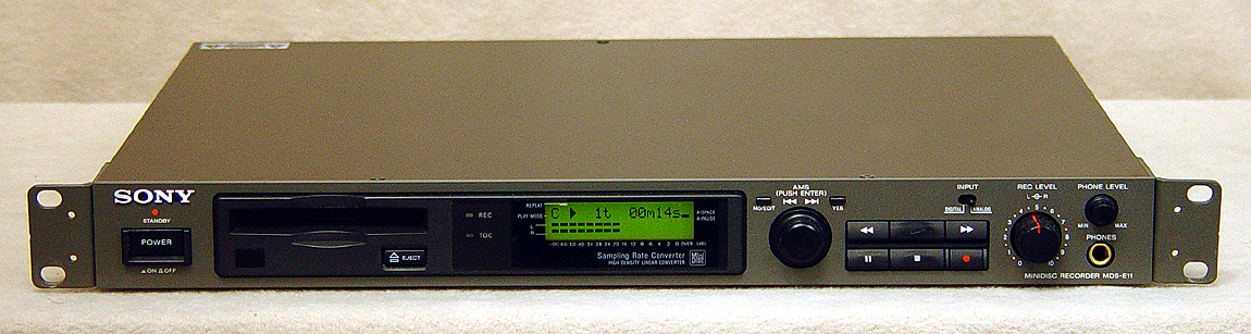 Sony MDS-E11 disc players
