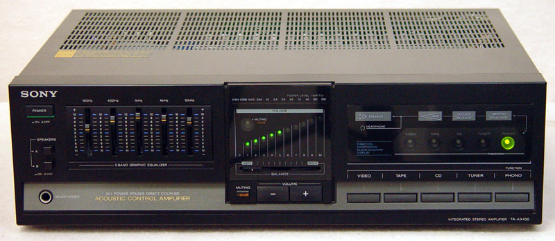 Sony TA-AX430 integrated amps