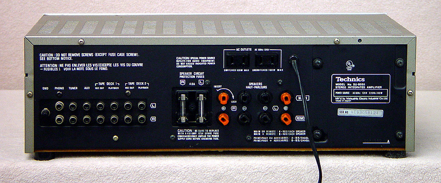 TECHNICS SU-8055 Integrated Amps