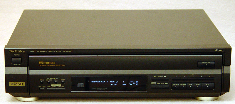 Technics SL-PD607 disc players