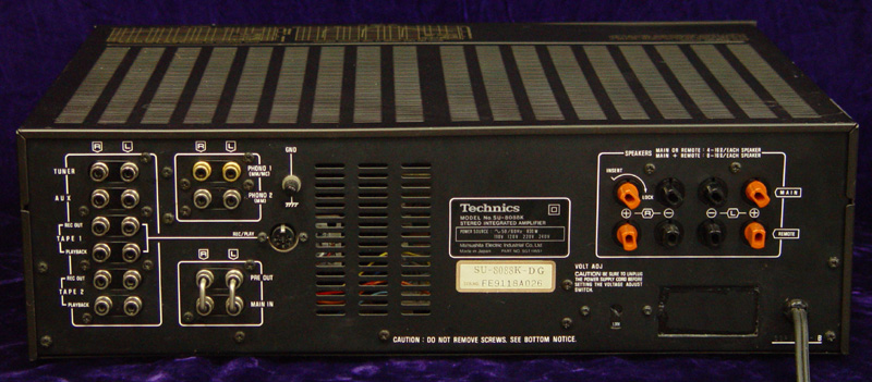 Technics SU-8088K integrated amps